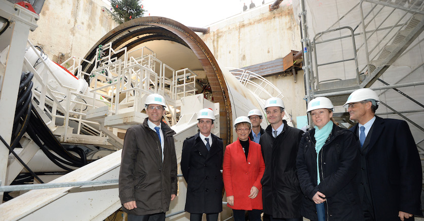 Le chantier du métro de Rennes avance
