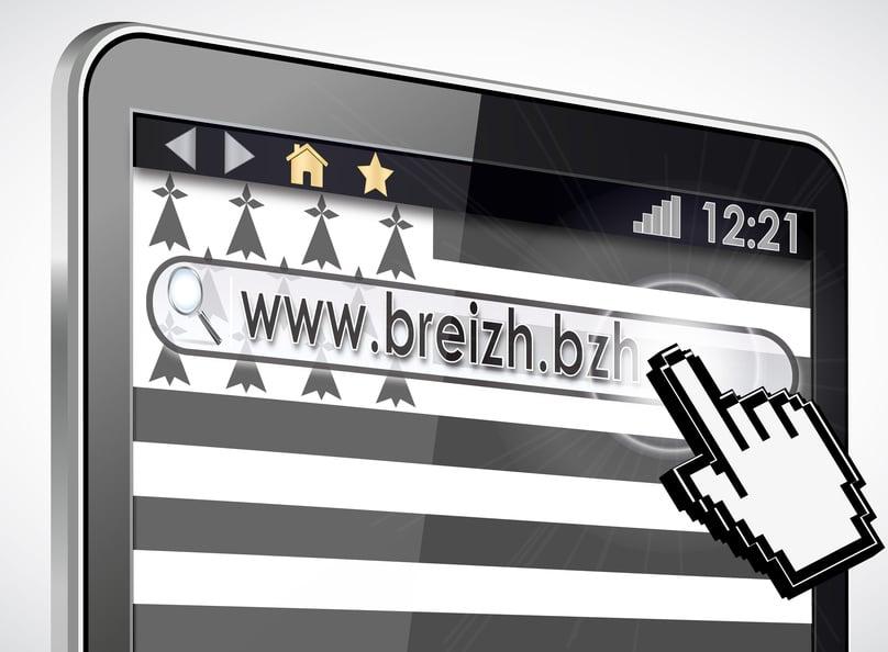 Identifier un site internet Breton avec le .bzh