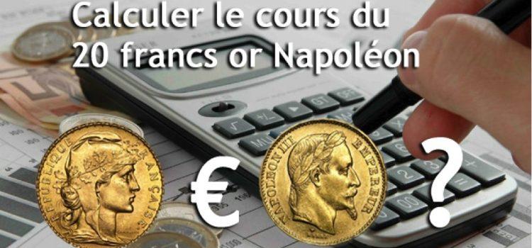 Quel est le prix d'un Napoléon en or ?