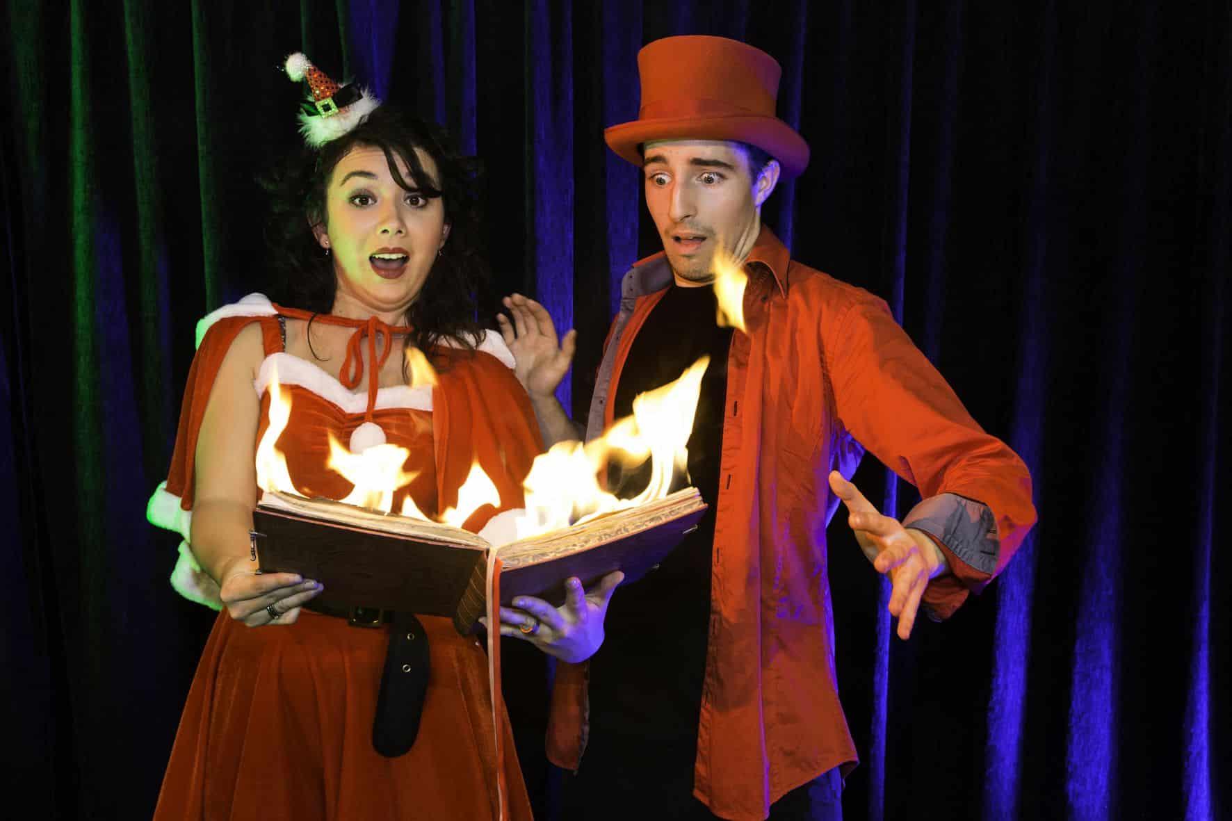 Trouver un magicien en Bretagne pour spectacle de Noël