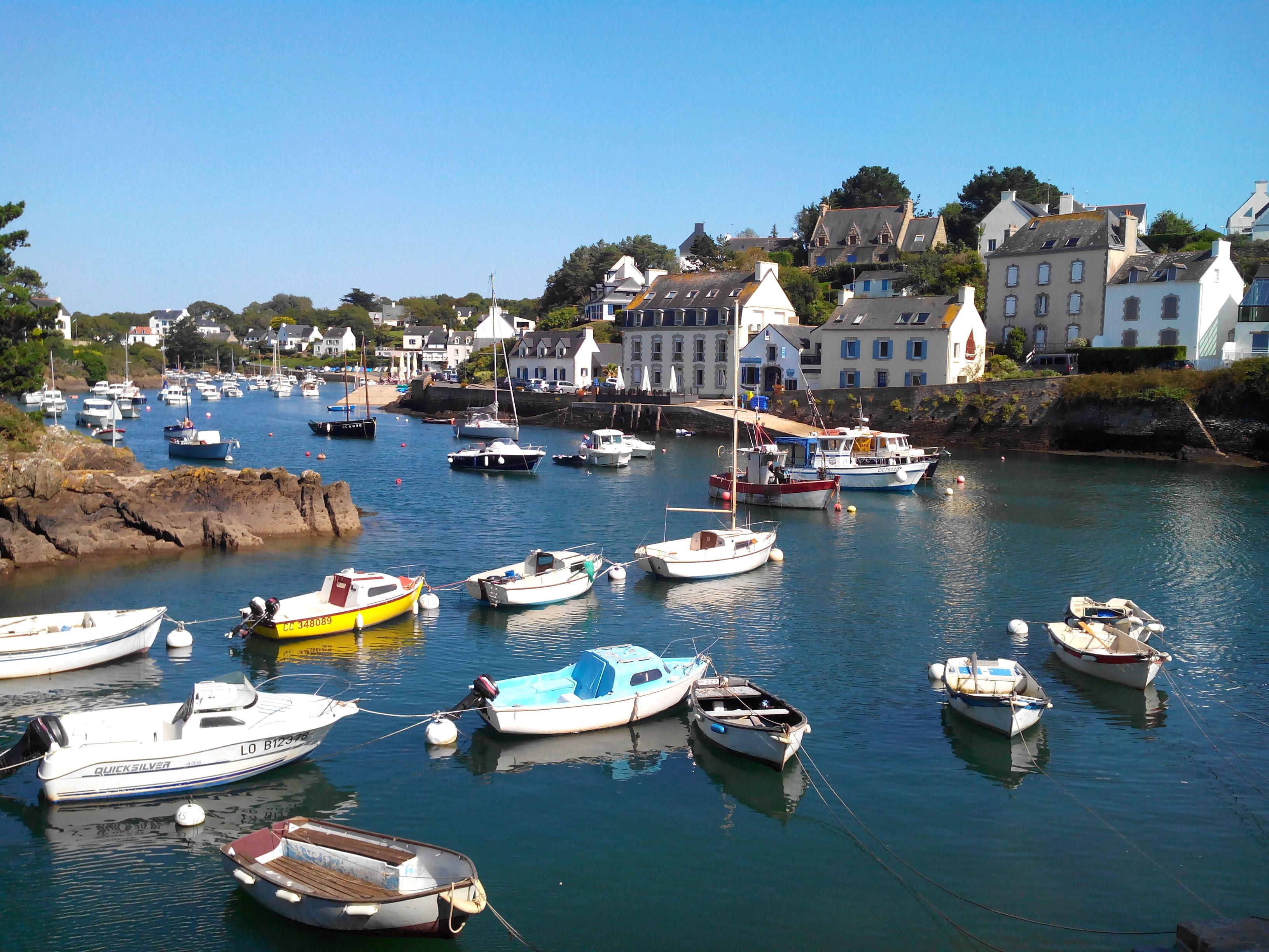 Une station balnéaire de la Bretagne