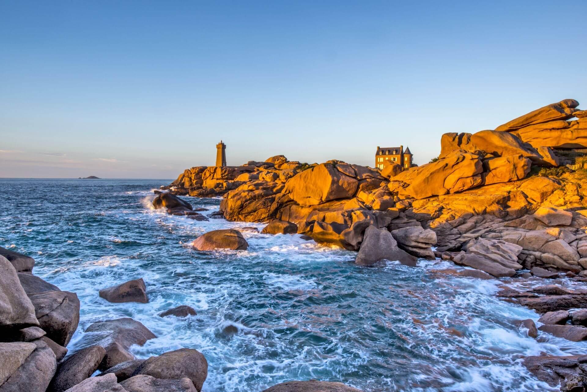Un château de la Bretagne