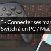Comment jouer avec une manette switch sur PC ?